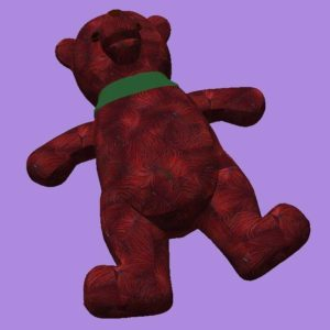 Red Christmas Bear image